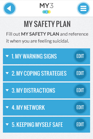 Wonderful Learn More About Safety Planning   Suicide Prevention App For Android And  IPhone   MY3Suicide Prevention App For Android And IPhone U2013 MY3